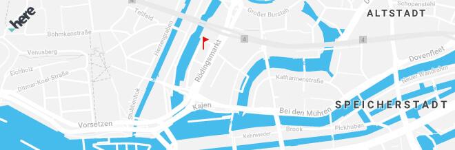 Anfahrt UX Hub Hamburg Rödingsmarkt 14